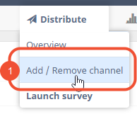 add/remove channel