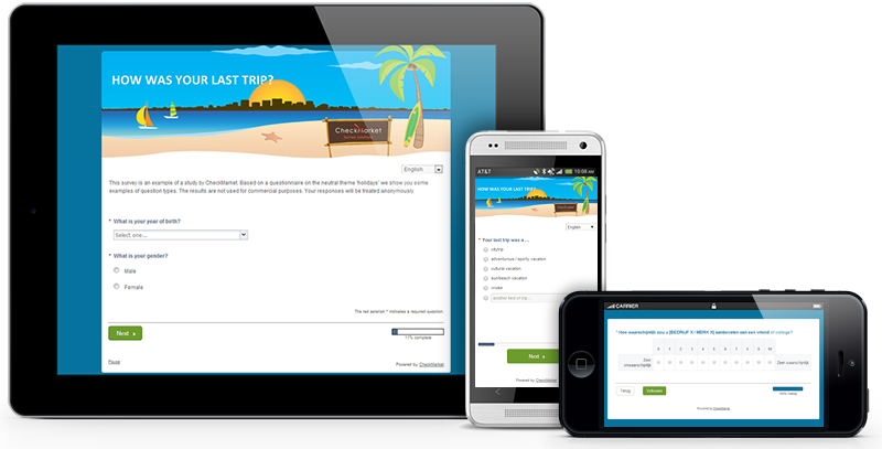 responsive mobile surveys