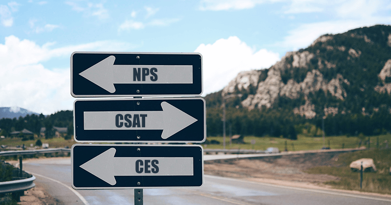 Measure customer satisfaction: CSAT, CES and NPS compared