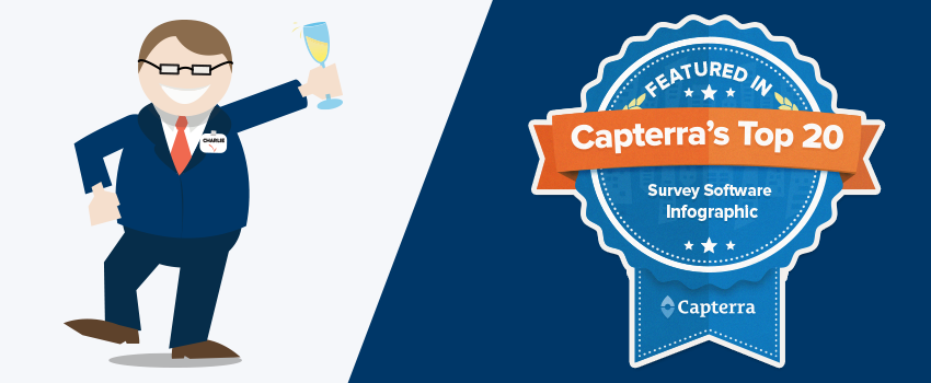 CheckMarket in Capterra's Top 20 Most Popular Survey Software